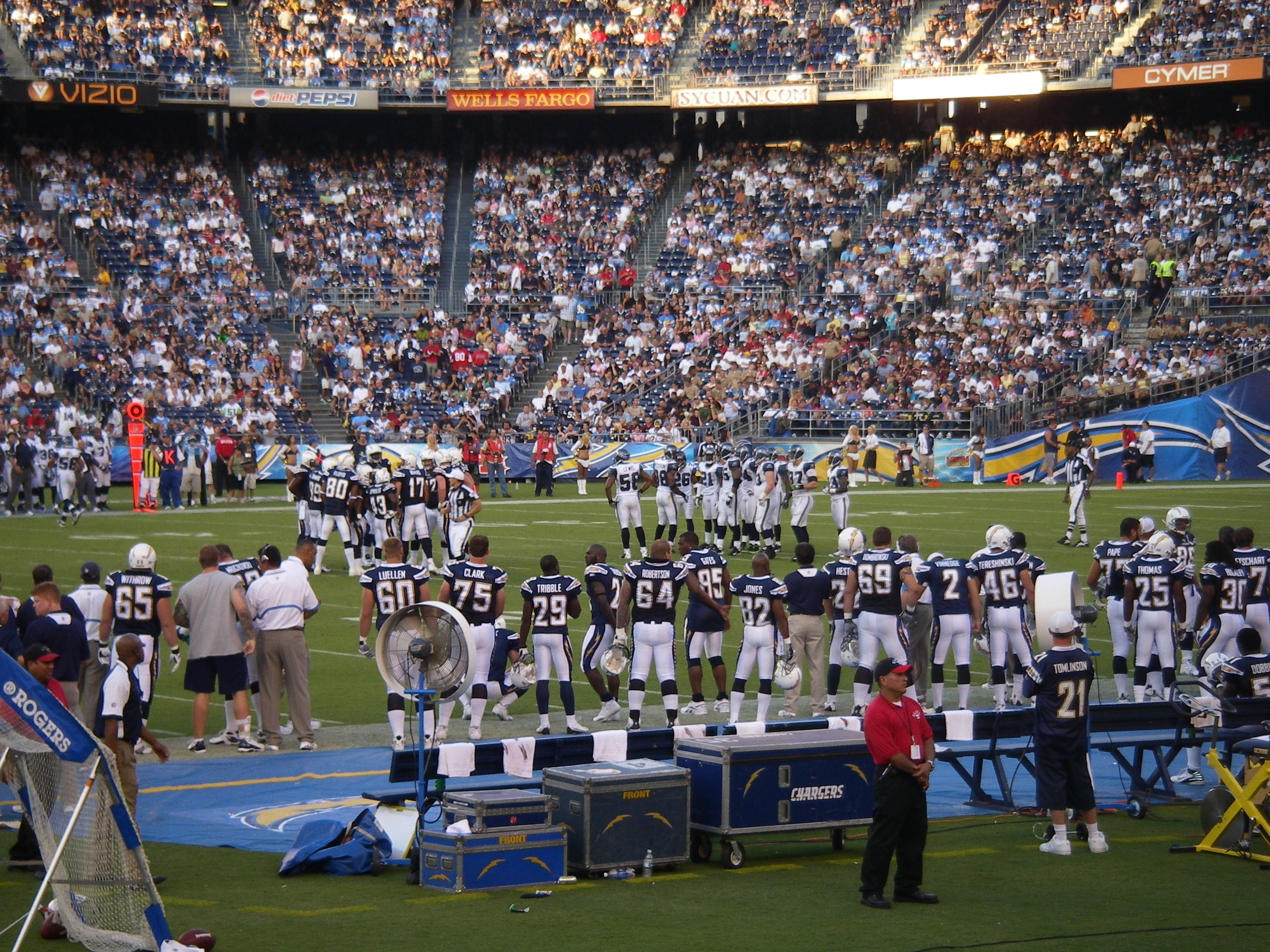 Charger's Game