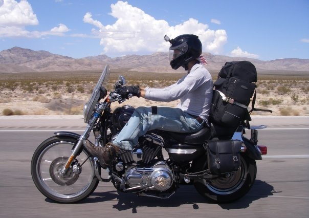 Touring on a 1200XL Sportster