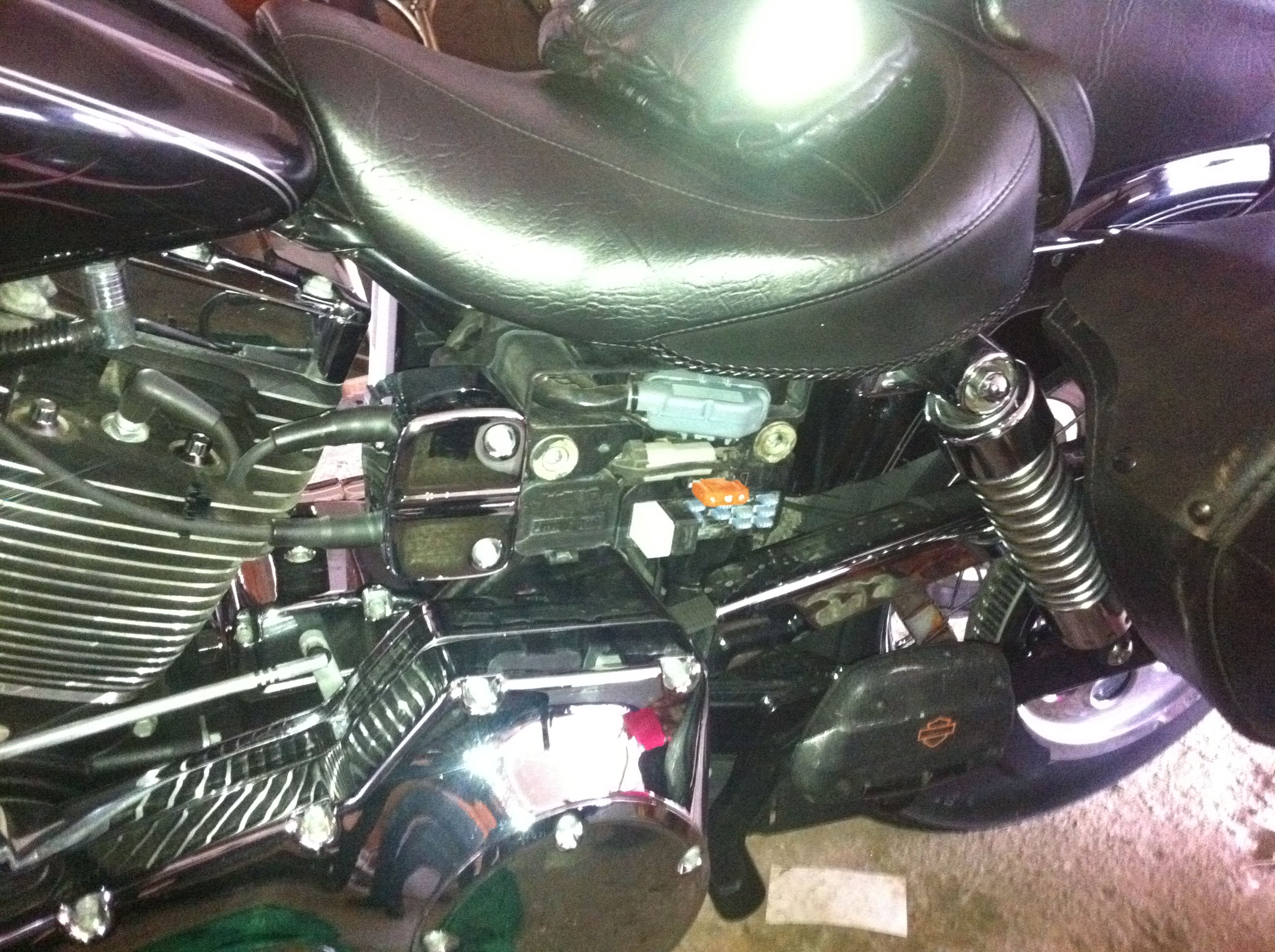 fuse-box  Harley Wide Glide Wiring Diagram on