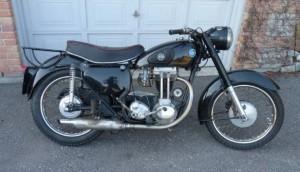 Classic 1959 AJS Model 16