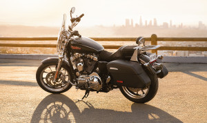 Harley's New Sportster- The Superlow 1200T